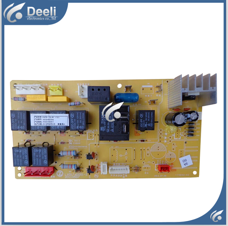 95% new good working for air conditioner motherboard pc board plate ZKFR-72LW 17C1 on slae a pair 95% new original for buffer plate board th p55gt32c tnpa5340 tnpa5341 good board