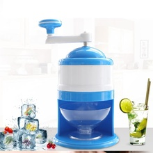 Household Hand Ice Machine Manual Snow Cone Maker Ice Cream