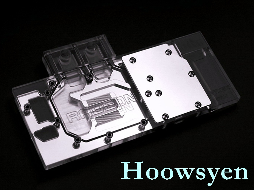 A-SP280-X 280X 7970 poison VXOC full coverage water-cooled head