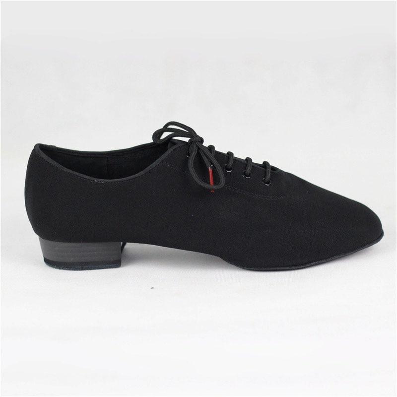 Hommes Standard Chaussures BD309 Salle De Bal Chaussures De Danse Toile Molletonnée Split Semelle Pratique Concurrence Hommes Moderne Danse Chaussures Danse Sportive - 2