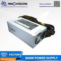High quality 2U 800W Industrial switch power supply for 2U 3U 4U 6U rackmount chassis workstation server case 100 240v