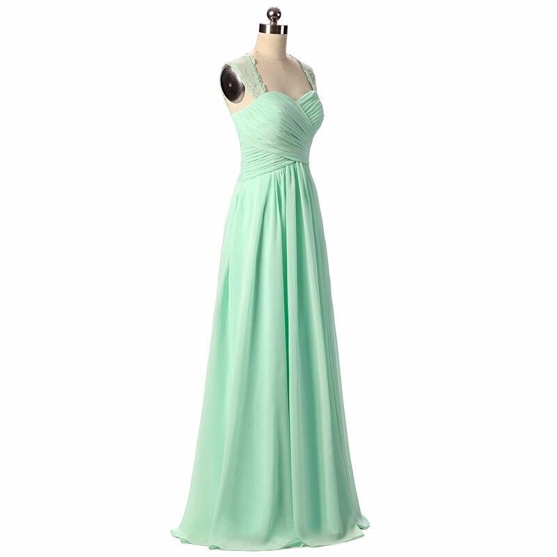 Bridesmaid Dresses 2019 Coral Burgundy Mint Navy Färg Av Skulder - Bröllopsfestklänningar - Foto 6