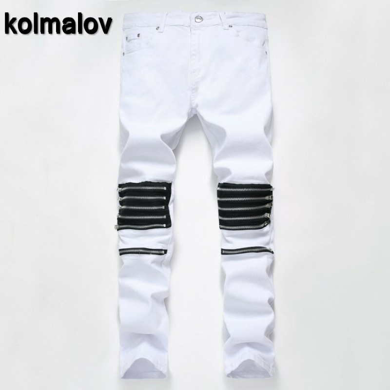 KOLMALKOV 2017 new High quality Brand men jeans,Patchwork jeans, Fashion jeans men classic jeans  cotton men trousers high quality 2017 new brand men jeans painted print jeans fashion jeans men calca jeans dsq 100