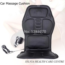 12V car massage seat cushion heated seat cushion neck and back car vibration massage cushion free shipping