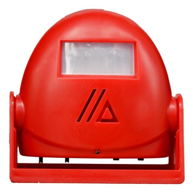DARHO 2017 Newest 3 in 1 Wireless Intelligent Greeting Doorbell Welcome Infrared Motion Sensor Warning Door Bell Alarm 6 colour