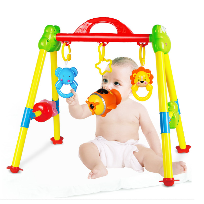 Baby Fitness Frame Musical 0 3 4 6 12 Months Old Newborn Baby Toy 0