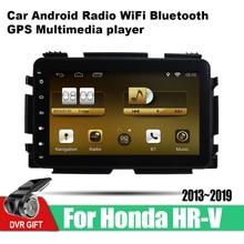 цена на ZaiXi 9 Inch 2Din Android Car Radio Wifi Autoradio HD 1024*600 Tochscreen GPS Multimedia Player For Honda HR-V 2013~2019