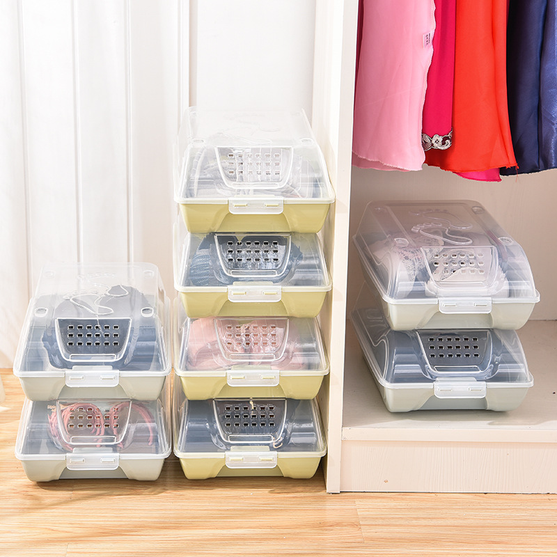 Home Free Combination Shoebox Steel Frame Plastic Cabinet Sneakers Boots Storage Organizer Convertible Space Size For Extended Family