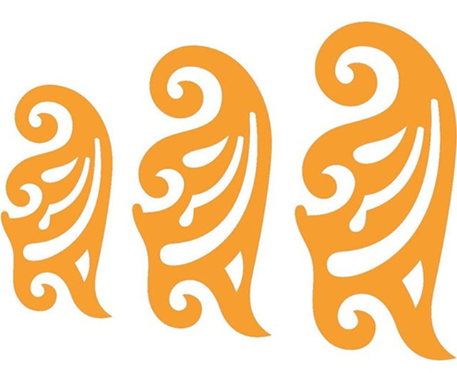 Set of 3 French Curves Curve Drawing Drafting Template Stencil ...