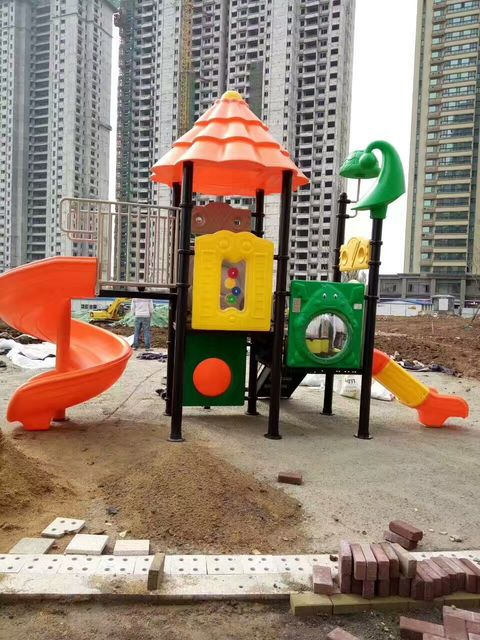 Exported To Indonesia High Quality Guarantee Children Outdoor Play Toys Kids Playground Hz 7419