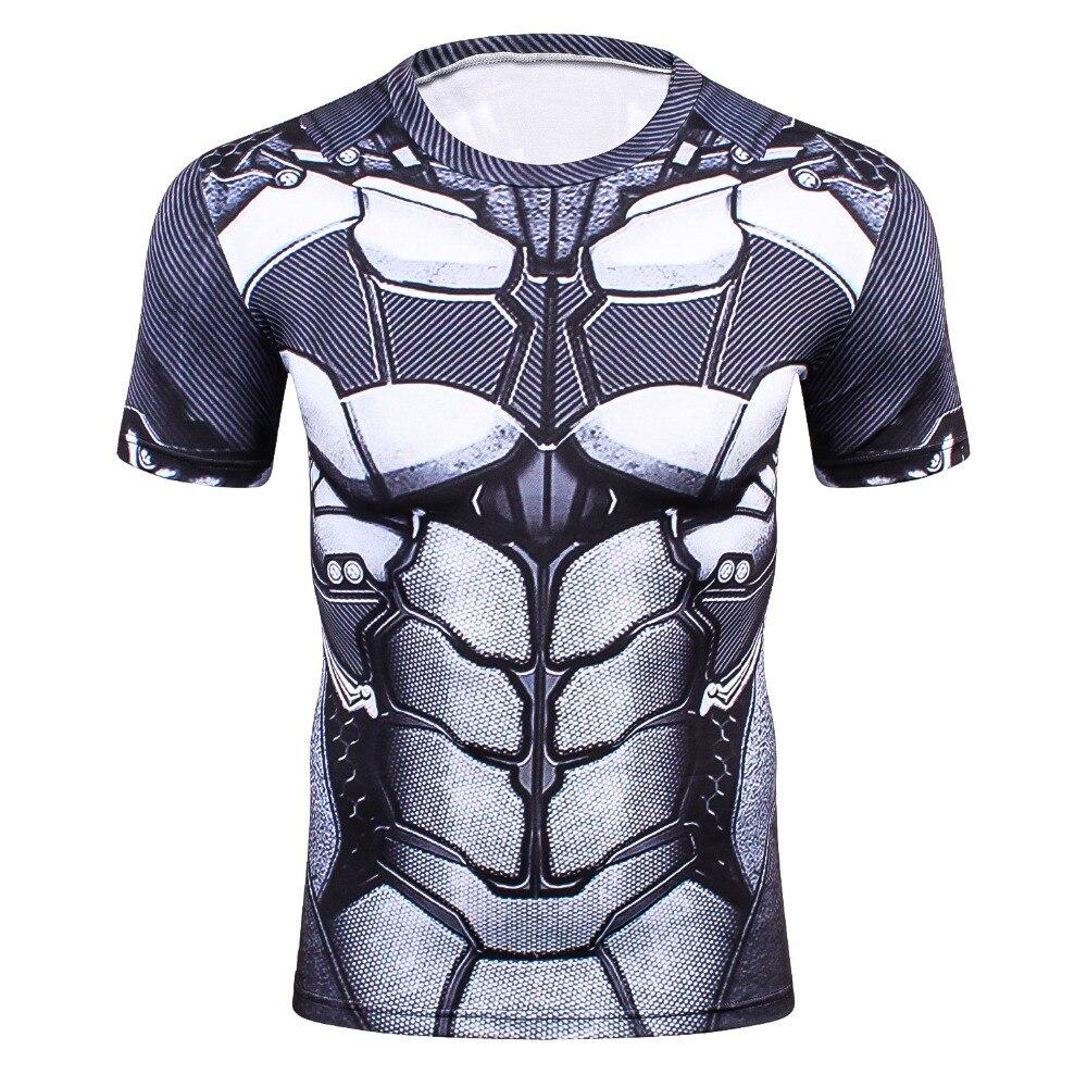 Newest Batman 3D PrintedT-Shirt Men  Compression Shirt 1