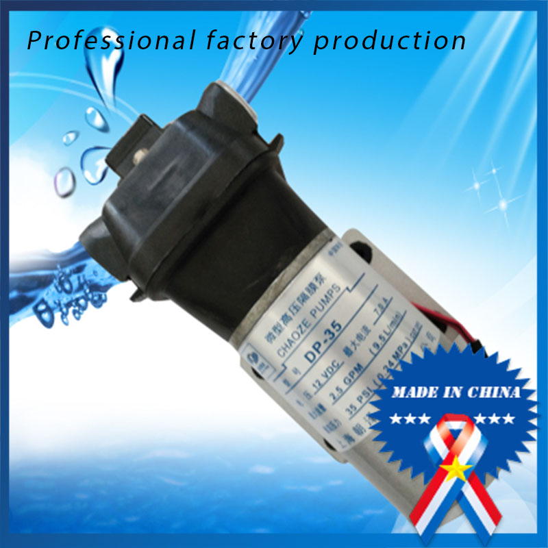 High pressure pumps DC 12V DC micro diaphragm pump priming pump spray pump