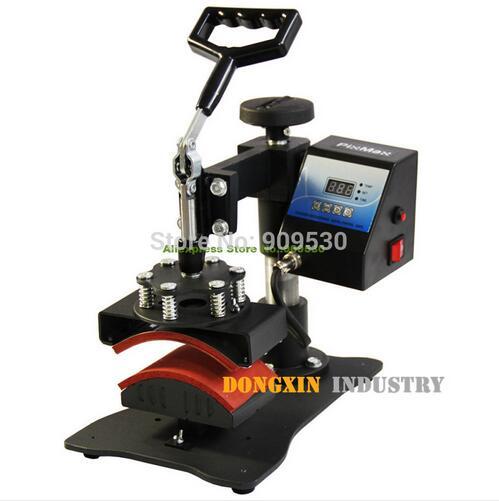 Heat Press Machine DX-0901 Multicolor hat sublimation heat transfer machine Printing transfer machine for hat