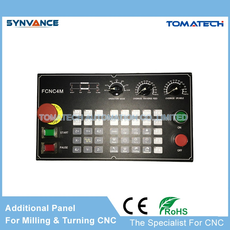 High performance CNC controller additional operation panel model FCNC4M