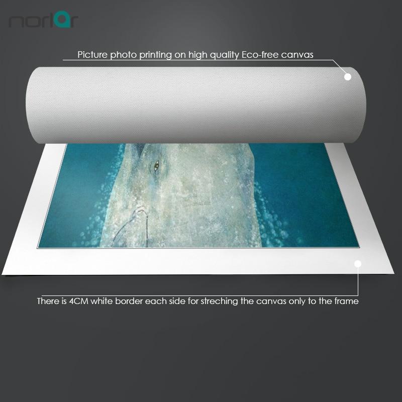 Giclee Печат на плакат на Северно сърце - Декор за дома - Снимка 2