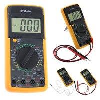 DT 9208A VKTECH Handheld Auto Range Digital Multimeter Voltage Amp Ohm Frequency AC DC Temperature