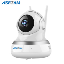 ASECAM 720P Pan Tilt Wifi ip Camera Wireless Home 1MP P2P Baby Monitor CCTV Wi fi ipcam Security Surveillance Two-Way Audio escam patron qf500 ip camera hd 720p 1mp p2p wifi security alarm camera system baby monitor support 32g tf card