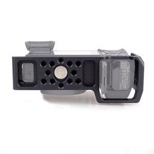 Image 3 - MAGICRIG estabilizador de jaula de cámara para Sony A6400/ A6000/ A6300/ A6500/ ILCE 6500/ NEX7 DSLR, Monitor de micrófono de montaje en jaula 501