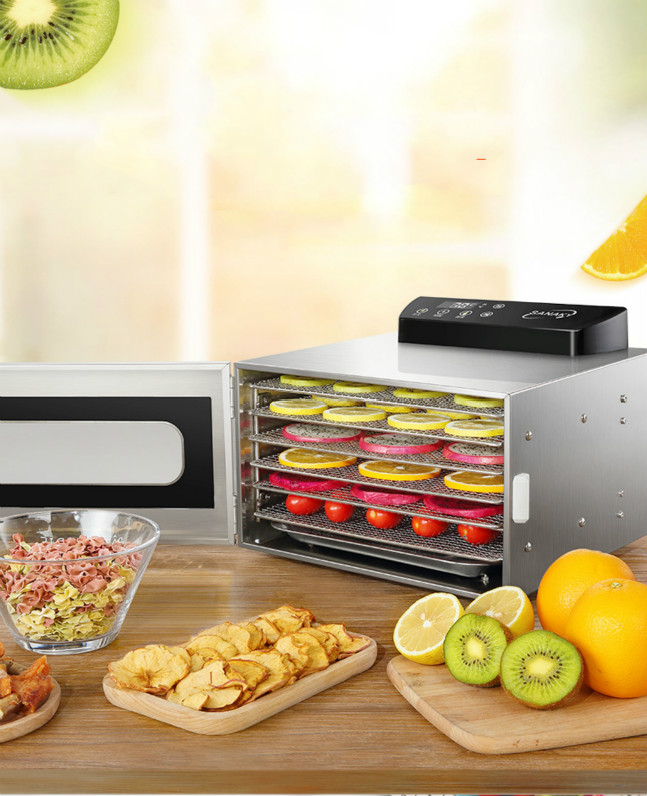 UCK Fruit Dryer Household Small Food Vegetable Dehydrator Soluble Bean Air Dryer Dry Fruit Mini 6 Layers Snack Drying MachineUCK Fruit Dryer Household Small Food Vegetable Dehydrator Soluble Bean Air Dryer Dry Fruit Mini 6 Layers Snack Drying Machine