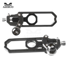 Motorcycle Chain Adjuster For BMW S1000R S 1000 R 2014-2015 CNC Aluminum Rear Axle Spindle