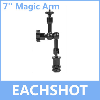 7 Inch Magic Arm,  for Camera Camcoder DV LCD Monitor LED light Shoemount DSLR Rig