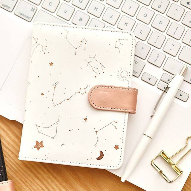 Beauty Constellations Notebook PU Cover Schedule Book Diary Weekly Planner Notebook Kawaii Stationery School Office SuppliesBeauty Constellations Notebook PU Cover Schedule Book Diary Weekly Planner Notebook Kawaii Stationery School Office Supplies