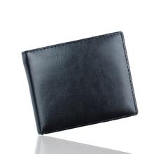 Luxury Mens Wallet Black Bifold Men's Leather Walle
