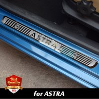 Free Shipping High Quality Stainless Stee Door Sill Scuff Plate Fit For Aoel Astra 2010 2015