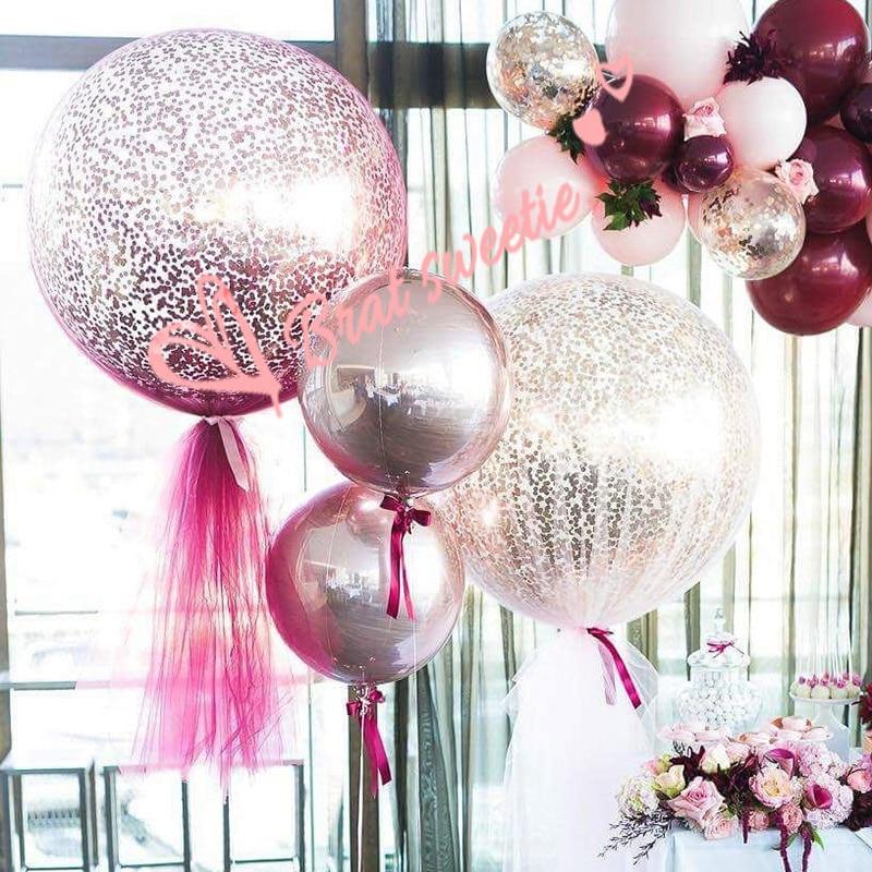 "2Pcs 36/"" Inch Giant Large Big Latex Ballon Wedding Home Party Helium Decorat YT"