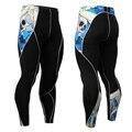Pantalones de Compresión Pantalones de hombre para Hombres Pantalones Largos Medias Leggings Lycra MMA Crossfit Levantamiento De Pesas Culturismo Piel