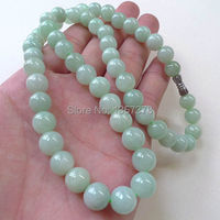 free shipping 000561 Beautiful 100% Natural Grade A Jadeite Bead Necklace Pendant