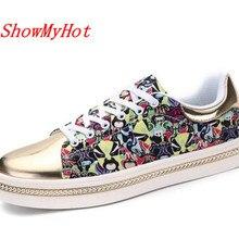 ShowMyHot/Модная Мужская прогулочная обувь; сезон лето; легкая дышащая мужская повседневная обувь на плоской подошве; zapatos mujer; кроссовки; Брендовая обувь