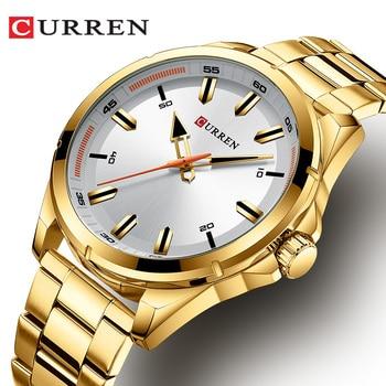 Top Luxury Brand CURREN 8320 New Men's Classic Fashion Quartz Watch Business Wristwatch With Box