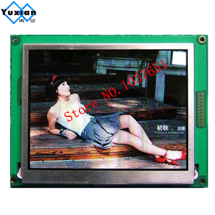 цена на 8bit 16bit mcu spi serial 5.7 inch TFT color lcd display panel 320RGB*240 with control IC RA8875 touch panel industrial TFT