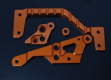 1/5 échelle HPI KM trois générations Baja 5B 5 T 5SC pièces de mise à niveau, ensemble de montage de moteur en alliage 6mm orange/argent options