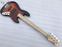 high quality 4 string Sunset bass guitar