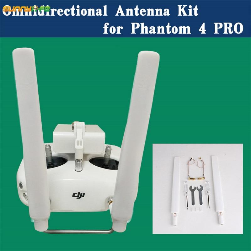 Sunnylife DJI Phantom 4 PRO Inspire2 Remote Control Refitting 5.8G Signal Booster Extended Long Range Omni-directional Antenna