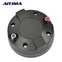 AIYIMA 1Pc Portable Audio Speaker Treble Drive Titanium Film Tweeter Driver 34 Core With Thread 8Ohm 20W DIY Speakers