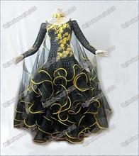 Modern Waltz Tango Ballroom Dance Dress, Smooth Ballroom Dress,Standard Ballroom Dress Girls B-0020