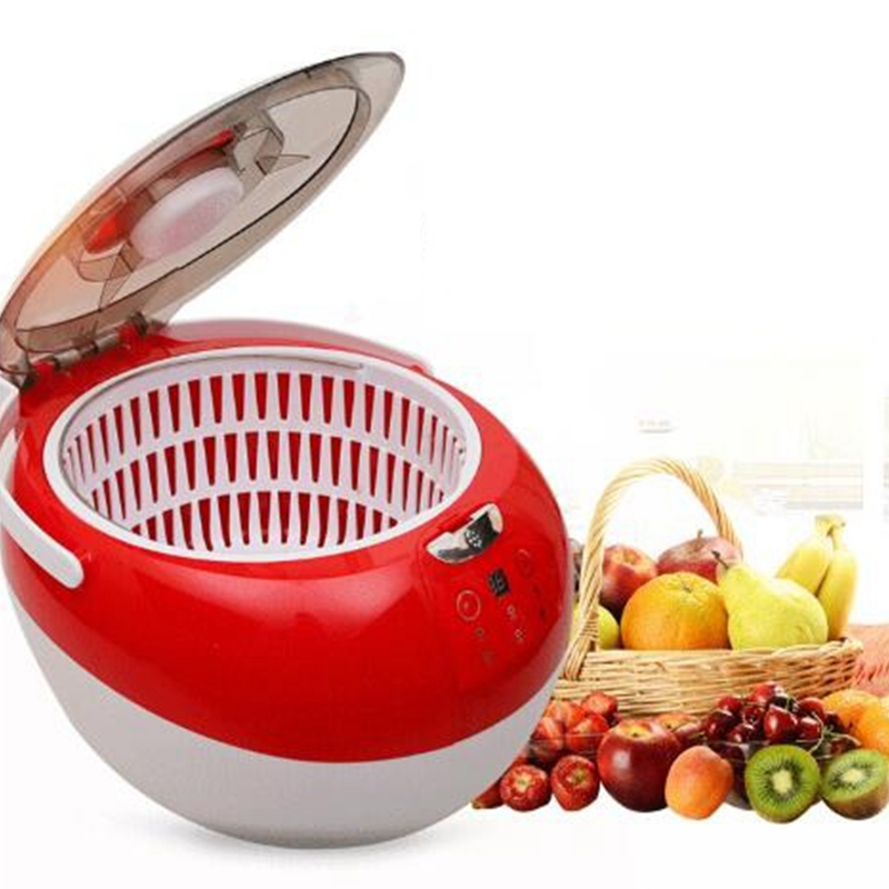 HIMOSKWA Household Ozone Generator Fruit Vegetable Food Detoxification Washer Tableware Disinfectant Cleaning Machine 220V himoskwa household ozone generator fruit vegetable food detoxification washer tableware disinfectant cleaning machine 220v