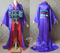 Macross Frontier Sheryl Nome Queen Kimono Halloween Cosplay Costume Outfit