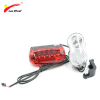 Electric Bicycle Front And Rear Lamp Set E Bike Light Set Front Bright Frame Light With