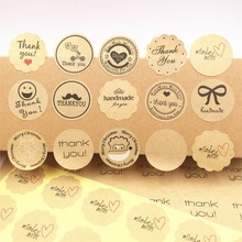 100PCS /lot multi style Label Sticker 3cm Sealing Label Sticker For baking cake /handmade gift /food/packing gift Sealing Labels