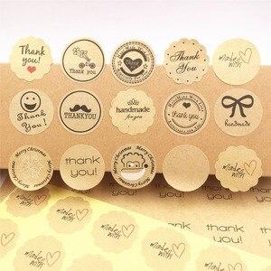 100PCS /lot multi-style Label Sticker 3cm Sealing Label Sticker For baking cake /handmade gift /food/packing gift Sealing Labels(China)
