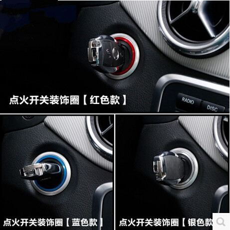 High Quality Aluminium alloy For Mercedes Benz A/B/C/E/GLK/ ML/ GL/ CLA /GLA /CLS ignition coil alloy sequins stickers engine oil cooler for mercedes a class b class cla gla 160 180 cdi