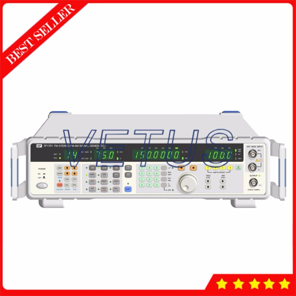 Générateur de signal de la fonction 100 kHz ~ 150 MHz de DDS synthétisé numérique avec génère la modulation stéréo de CW FM/AM