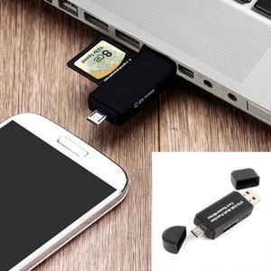 Image 3 - אחסון כרטיס כתיבת קריאת מכשיר מיקרו USB OTG ל usb 2.0 מתאם SD TF כרטיס קורא עבור טלפון מחשב לוח