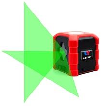 Nouveau Laser niveau lumière verte croix 2 ligne mini lancement ligne instrument de marquage slash