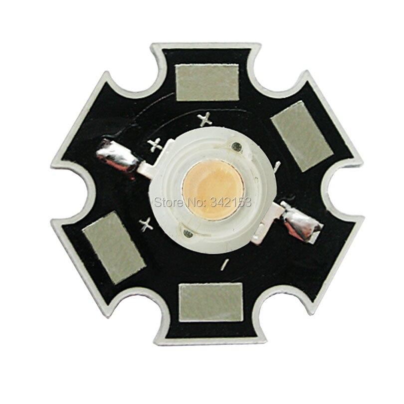 20pcs 3W Lavender Led Beads DC 3.2-3.6V 350mA - 700mA 120 Degree High Power LED Emitter Lamp Light