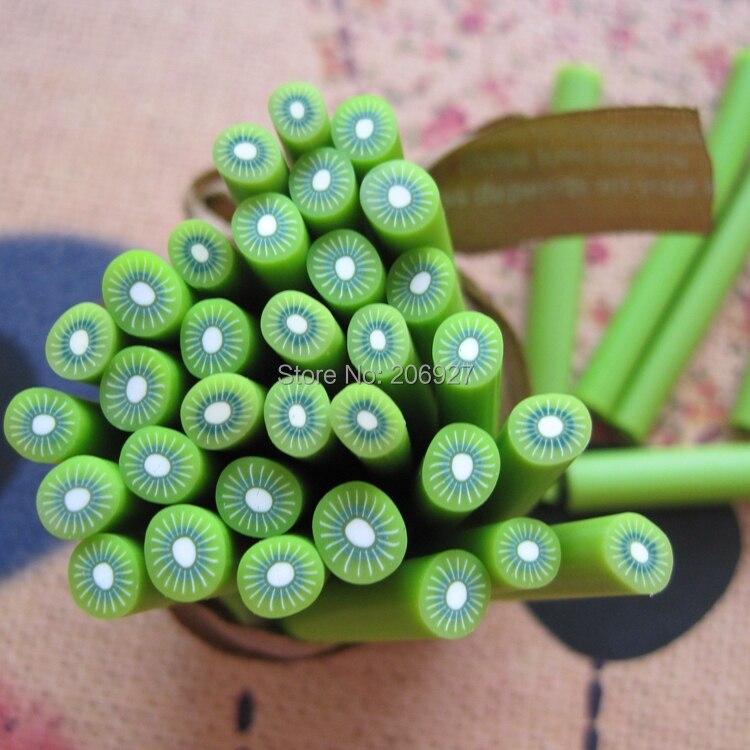 Buy 5pcs a 15 5mm cute kiwi fruit cane for Decoration kiwi